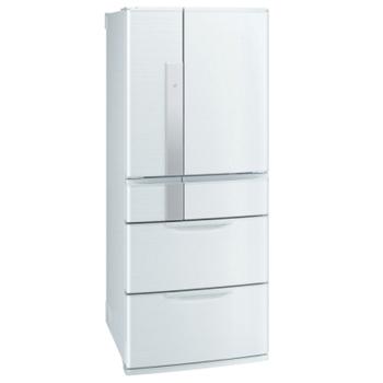送14吋電扇★【三菱MITSUBISHI】日本原裝635L六門變頻1級節能電冰箱MR-JX64W