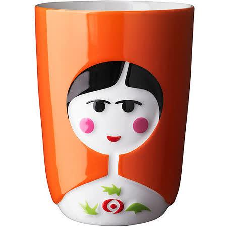 《QDO》俄羅斯娃娃杯(橘)