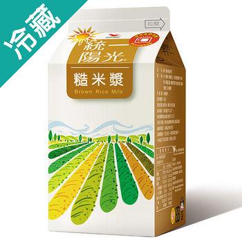 統一陽光糙米漿450ml