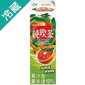 純喫茶鮮柚綠茶960ML/瓶