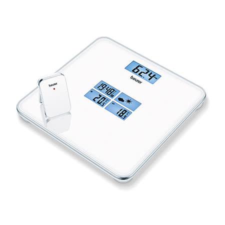 德國 博依 beurer GS 80 五重螢幕天氣預報體重計