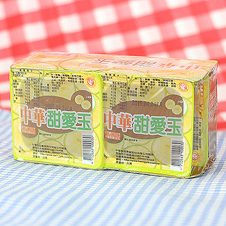 中華甜愛玉(檸檬)150g*4