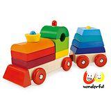 《 Selecta 》彩色積木串小火車