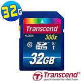 創見Transcend 32GB SDHC Class10 UHS-I記憶卡(Premium)
