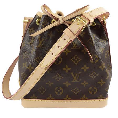 Louis Vuitton M40817 NOE BB 經典花紋可斜背小水桶包_預購