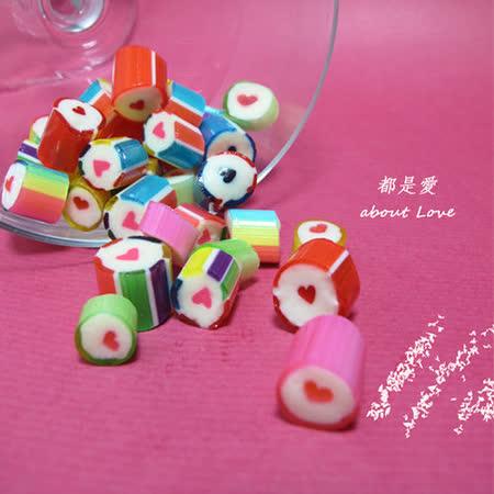 Papabubble-西班牙手工糖(愛心、袋裝、60g)
