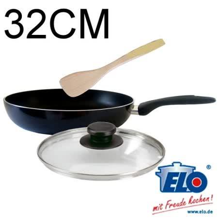 【私心大推】gohappy 購物網《德國ELO》Gourmet 鈦星不沾平底鍋(32cm)評價如何台南 大 遠 百 美食