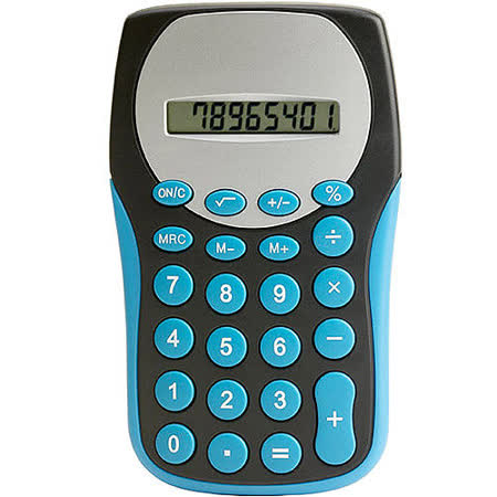 《VOYAGER》亮彩8位計算機(藍)
