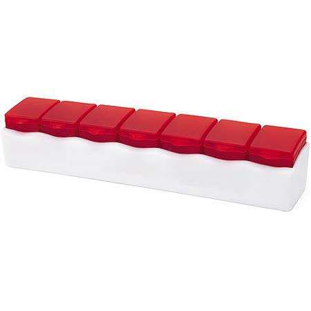 《VOYAGER》一周7天藥盒(紅)