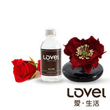【Lovel】造型紙花典雅香氛擴香花組(玫瑰)