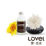 【Lovel】造型紙花典雅香氛擴香花組(向日葵)