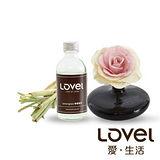 【Lovel】造型紙花典雅香氛擴香花組(檸檬香茅)