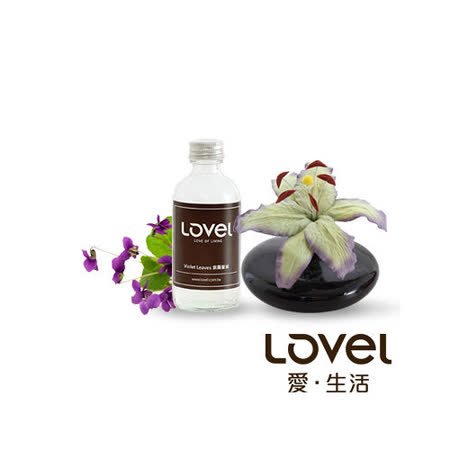 【Lovel】造型紙花典雅香氛擴香花組(紫羅蘭葉)