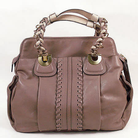 【勸敗】gohappy線上購物【Chloé 】新款 Heloise Shoulder bag 羊皮肩背包(粉紫/大)評價如何愛 買 24 小時