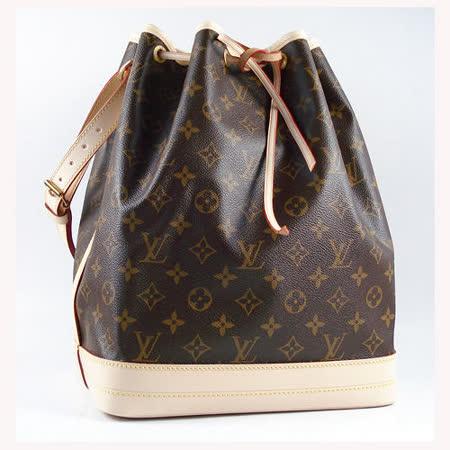 Louis Vuitton M42224《超人氣》 Monagram時尚經典水桶包.大_預購