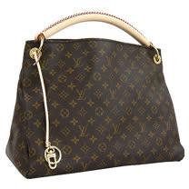 Louis Vuitton M40249 ARTSY MM 新款秀包手工單柄皮革肩背包(中)_預購