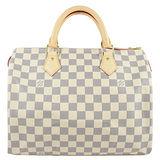 Louis Vuitton LV N41370 N41533 SPEEDY 30 白棋盤格紋手提包 預購
