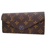 Louis Vuitton M60164 Josephine經典花紋長夾(藍色)_現貨