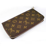 Louis Vuitton LV M60017 Monagram拉鍊式長夾_現貨