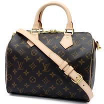 Louis Vuitton LV M41113 M40390 人氣款Speedy 25 經典花紋附背帶手提包_預購