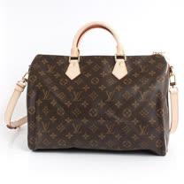 Louis Vuitton LV M41111 M40392 Speedy 35 經典花紋附背帶手提包_預購