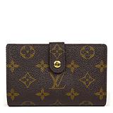 Louis Vuitton LV M61674 法式經典格紋信用卡扣式零錢中夾【預購】