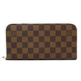 Louis Vuitton LV N63071 新款Insolite棋盤格紋雙拉鍊長夾_預購