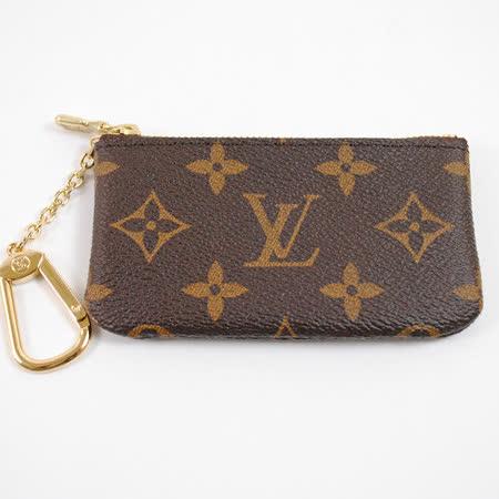 Louis Vuitton LV M62650 經典花紋小型方型鑰匙零錢包_現貨