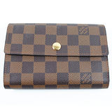Louis Vuitton LV N63067 棋盤格紋皮夾_現貨