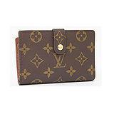 Louis Vuitton LV M61674 法式經典格紋信用卡扣式零錢中夾_現貨