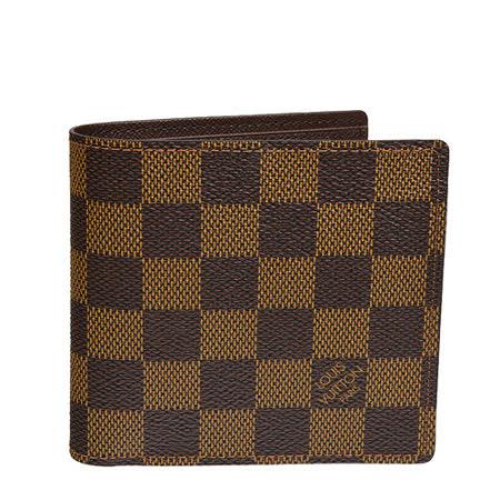 Louis Vuitton LV N61675 棋盤格紋摺疊短夾_預購