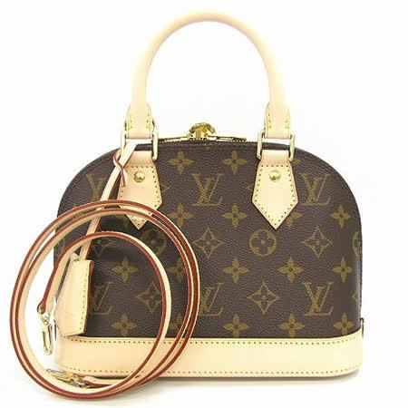 Louis Vuitton LV M53152 ALMA BB 新版經典花紋手提斜背小艾瑪包_預購