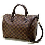 Louis Vuitton LV N41367 N41183 棋盤格紋Speedy 30 手提包(附背帶) 預購