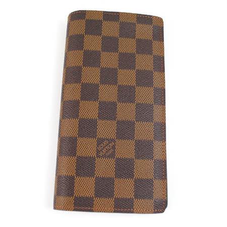 Louis Vuitton N60017 Damier 棋盤格紋雙折零錢長夾_預購