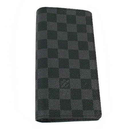 Louis Vuitton N62665 黑棋盤格紋雙折零錢長夾(灰黑) _預購