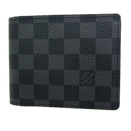 Louis Vuitton LV N63074 Damier 黑棋盤格紋多卡零中短夾_預購
