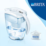 【德國BRITA】Elemaris艾利馬智慧型2.4L濾水壺(內含一入濾芯)