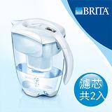 【德國BRITA】Elemaris艾利馬智慧型2.4L濾水壺+MAXTRA一入濾芯(本組合共有二支濾芯)