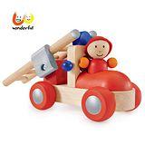 《Selecta 》木製幼兒消防車
