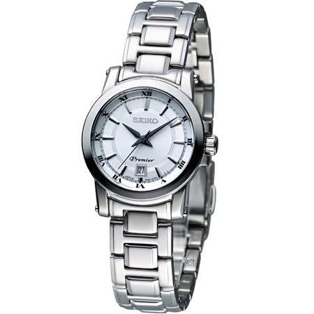 SEIKO 精工 Premier 古典之美 時尚腕錶 7N82-0HP0S  SXDF41J1