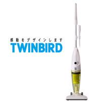 日本TWINBIRD手持直立兩用吸塵器TC-5121TWG(嫩芽綠)