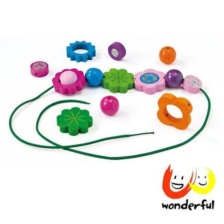 《 Selecta 》可愛木製小花串繩項鍊