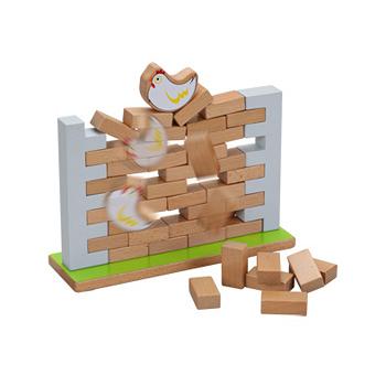 Classic world 客來喜-德國經典木玩 木製母雞疊疊樂 幼兒益智玩具