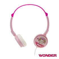【福利品】旺德 PLEASE美眉頭戴式造型耳機 W7-P02HP