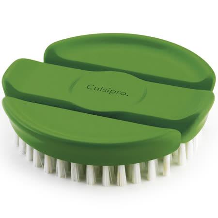 《CUISIPRO》多角度蔬果刷(綠)