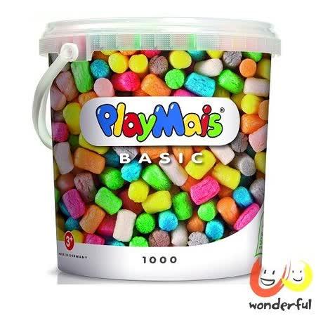 《 Playmais 》玩玉米創意黏土超值桶