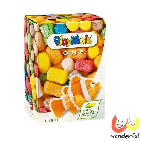 (購物車)《 Playmais 》玩玉米創意黏土小巧盒 - 魚