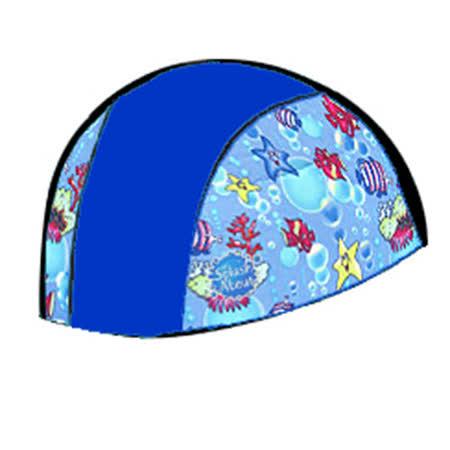 潑寶 Splash About - Swim Hat 抗UV泳帽- 寶藍 / 海底世界