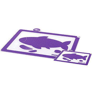《MASTRAD》分類軟砧板2件組(紫)
