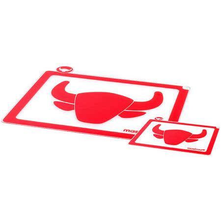 《MASTRAD》分類軟砧板2件組(紅)